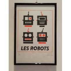 ROBOTS, LES - Serigrafía...