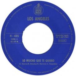 ÁNGELES, LOS - Lo Mucho Que Te Quiero / Cada Día