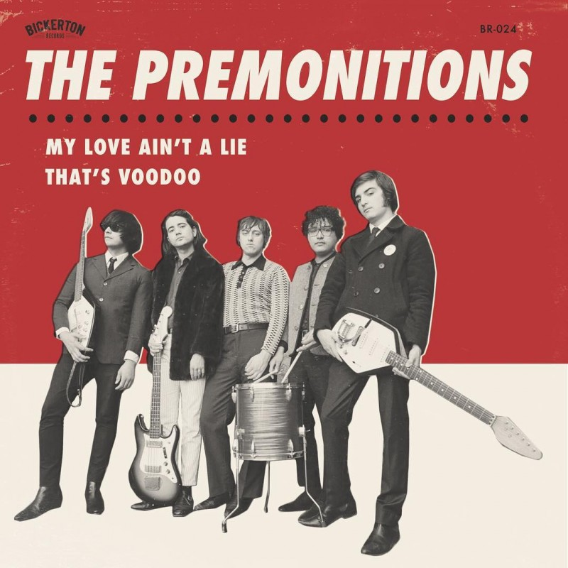 PREMONITIONS, THE - My Love.../That's Voodoo (blanco)